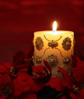 Holiday Lighting and Candles